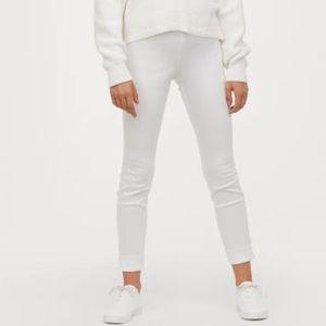 GUC H&M Slim Slacks High-Waisted Ankle Length